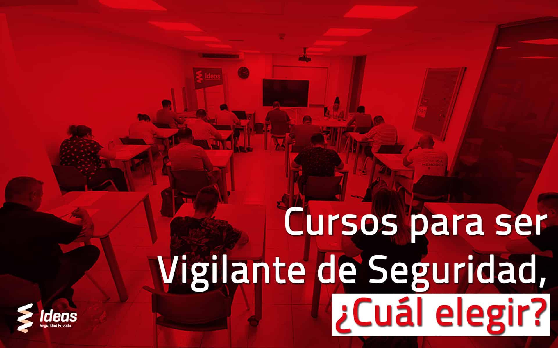 Descubre todos los cursos para vigilante de seguridad y como puedes mejorar dentro de la profesión. Contáctanos y fórmate con nosotros.