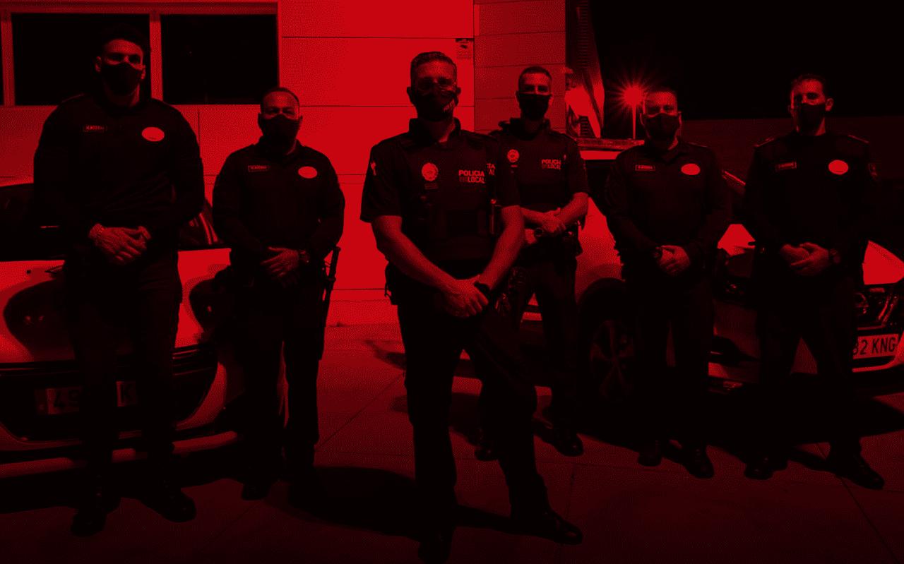 Seguridad Privada ayuda a la Policía local